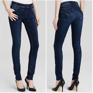 Hudson | Collin Mid Rise Skinny Jeans Flap Pocket
